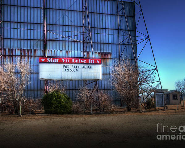 Kansas Poster featuring the photograph For Sale Again by Fred Lassmann