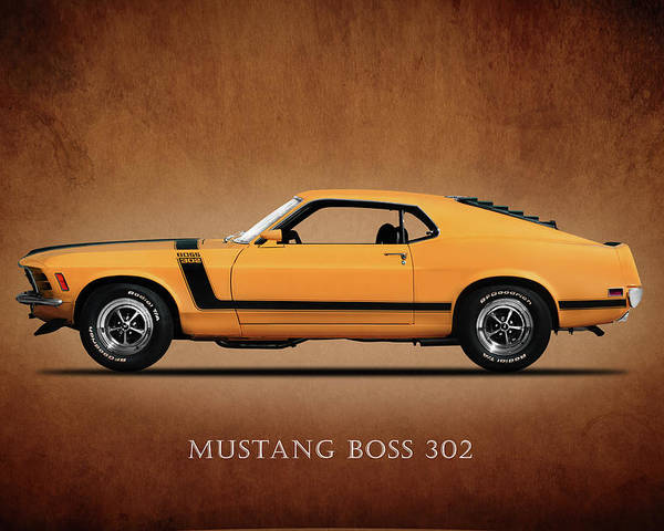 Ford Mustang Boss 302 >> Ford Mustang Boss 302 Poster