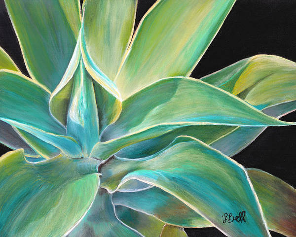 Agave Poster featuring the painting Foregone Conclusion by Laura Bell