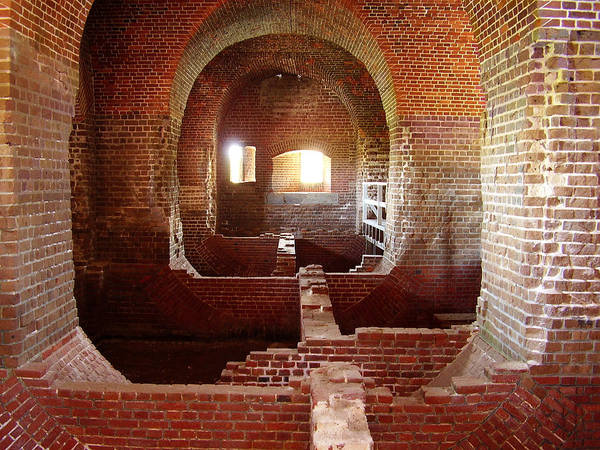 Fort Pulaski Poster featuring the photograph Fort Pulaski I by Flavia Westerwelle