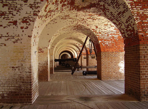 Fort Pulaski Poster featuring the photograph Fort Pulaski II by Flavia Westerwelle