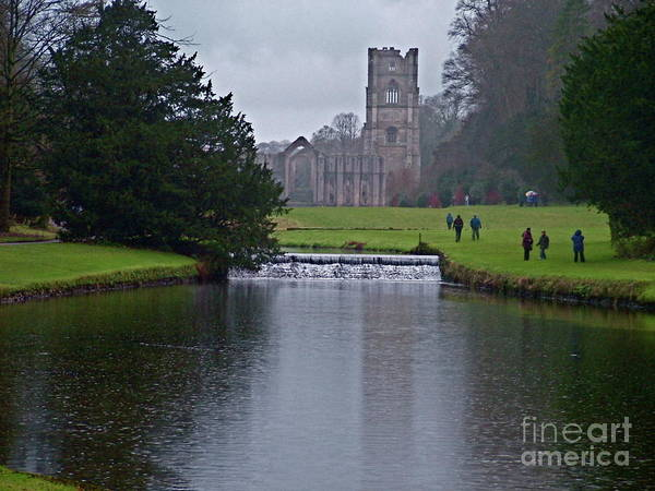 Doug Thwaites Poster featuring the photograph Fountains Abbey 5 by Doug Thwaites