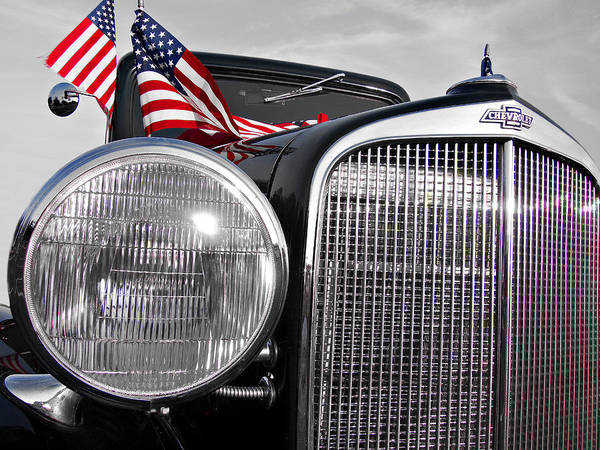 Chevrolet Poster featuring the photograph Fourth Of July-chevvy by Douglas Barnard