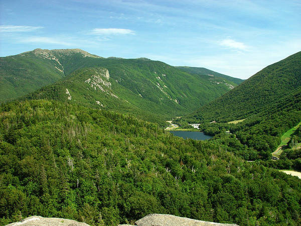Nature Poster featuring the photograph Franconia Notch by Eric Workman
