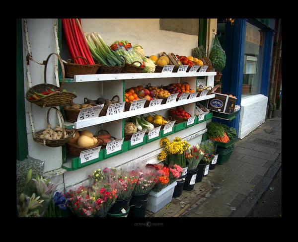 Shaftesbury Poster featuring the photograph Fresh Produce by Tim Nyberg