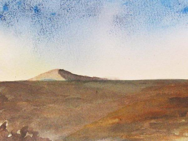 Hill Poster featuring the painting From A Distance by Trilby Cole