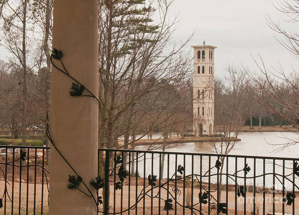 Furman University Poster featuring the photograph Furman Bell Tower 1 by David Waldrop