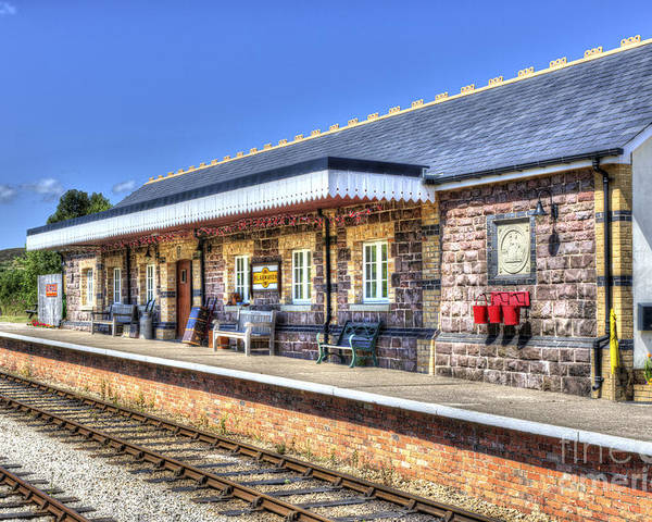 Furnace Sidings Railway Station 2 Poster By Steve Purnell