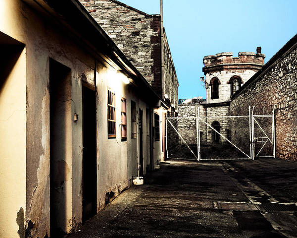 Old Poster featuring the photograph Gaol by Kelly Jade King