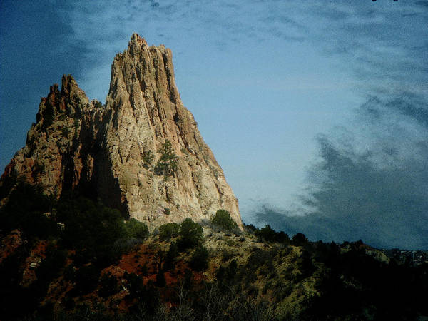 Abstract Poster featuring the photograph Garden Of The Gods 15 by Lenore Senior