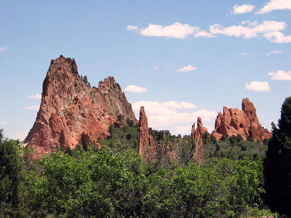 Colorado Poster featuring the photograph Garden Of The Gods by Margaret Fortunato