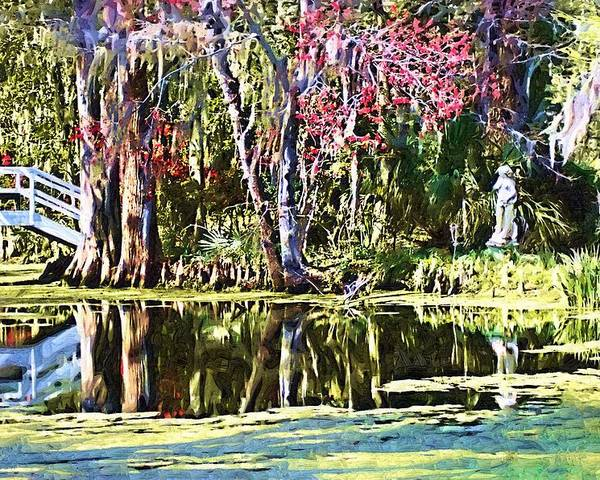 Gardens Poster featuring the photograph Gardens by Donna Bentley
