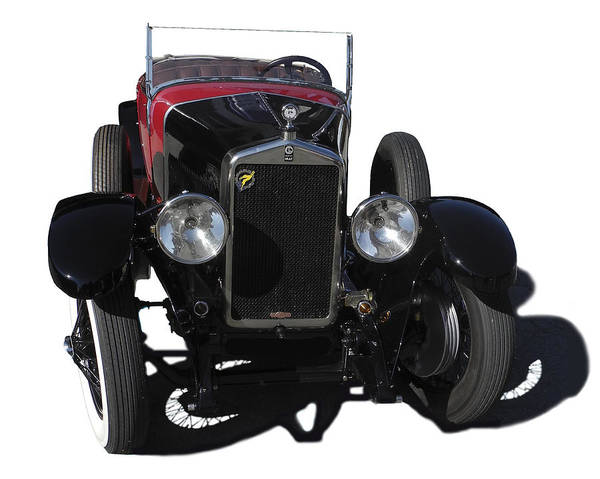 Car Poster featuring the photograph Georges Irat 4a Serie 2 1922 by Roland Bouvier