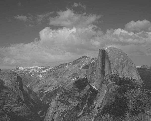 Half Dome Poster featuring the photograph Glacier Point by Travis Day