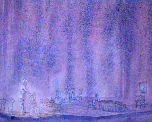Scenery Poster featuring the painting Glass Menagerie by Terrell Gates