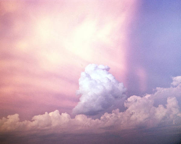 Clouds Poster featuring the photograph Glories Of Heaven by Douglas Barnett