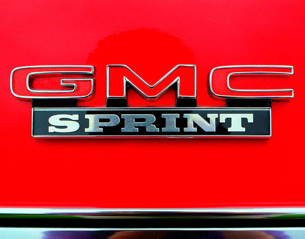 Gmc Sprin Tcoupe Poster featuring the photograph Gmc Sprint 001 by Jeff Stallard