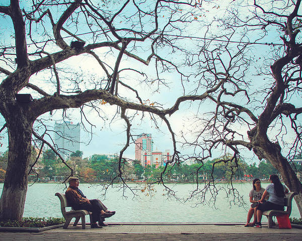 Ha Noi Poster featuring the photograph Good Friend by Manh Phi