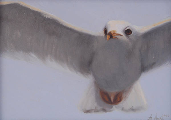 Painting Poster featuring the painting Graceful by Greg Neal
