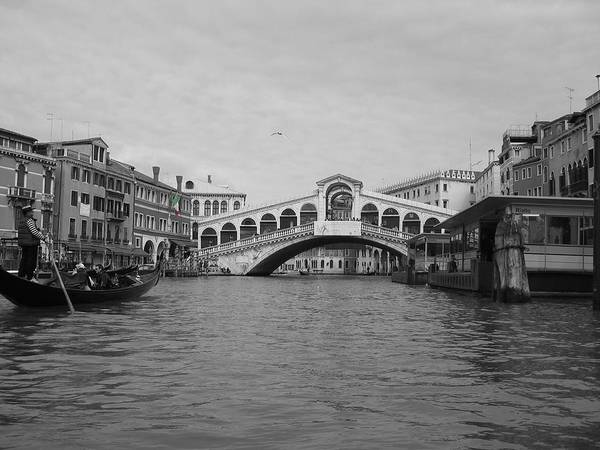 Cityscape Poster featuring the photograph Grand Canal IIi by Dylan Punke
