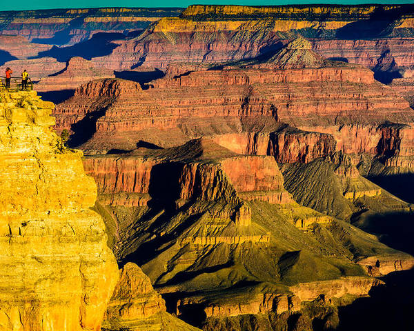 Formations Poster featuring the photograph Grand Canyon Morning Light by Daniel Dean