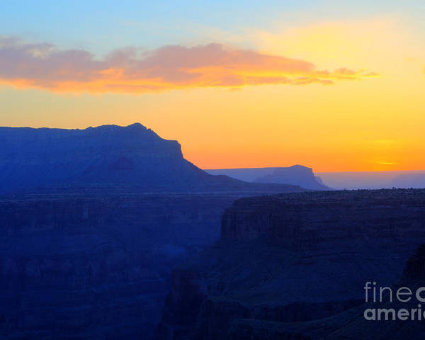 Grand Canyon Poster featuring the photograph Grand Canyon Sunrise At Toroweap by Bob Christopher