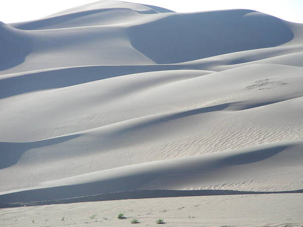 Nature Poster featuring the photograph Great Sand Dunes by Peter McIntosh