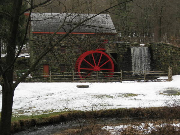 Poster featuring the photograph Grist Mill by Amy Carroll