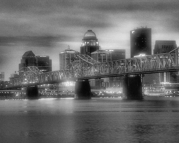 River Poster featuring the photograph Gritty City by Steven Ainsworth
