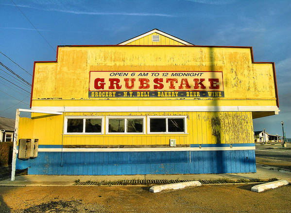 Shop Poster featuring the photograph Grubstake by Steven Ainsworth