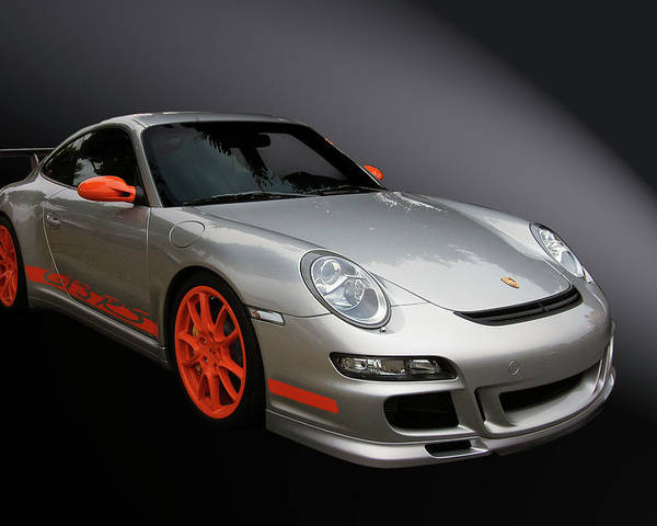 Porsche Poster featuring the photograph Gt3 Rs by Bill Dutting
