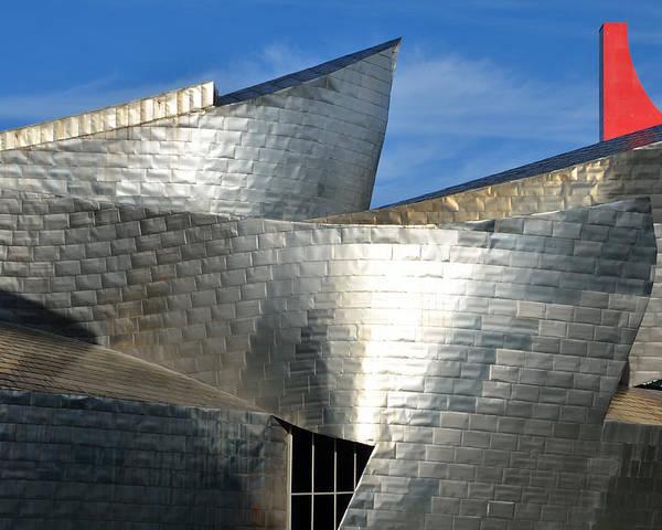 Guggenheim Poster featuring the photograph Guggenheim Museum Bilbao - 5 by RicardMN Photography