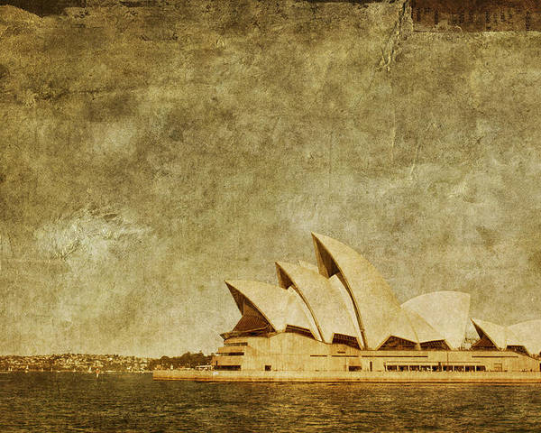 Sydney Poster featuring the photograph Guided Tour by Andrew Paranavitana