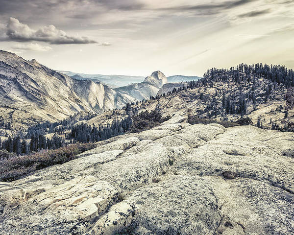 Yosemite Poster featuring the photograph Half Dome View by Alexander Kunz