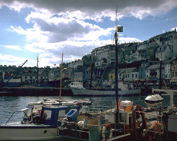 Great Britain Poster featuring the photograph Harbor II by Flavia Westerwelle