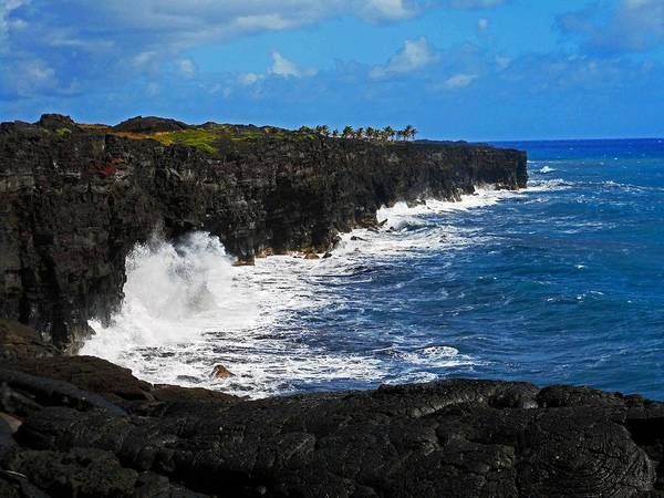 Hilo Poster featuring the photograph Hawaii Ocean Coast 2 by Ron Kandt