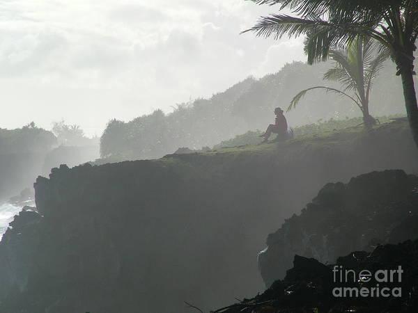 Hawaii Poster featuring the photograph Hawaiian Meditation by John Loyd Rushing