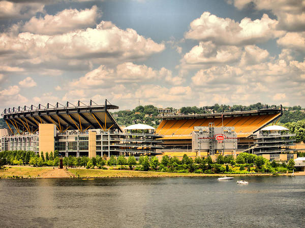 Heinz Field Poster featuring the photograph Heinz Hdr by Arthur Herold Jr