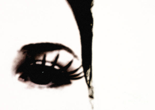 Eye Poster featuring the photograph Hello by Amanda Barcon
