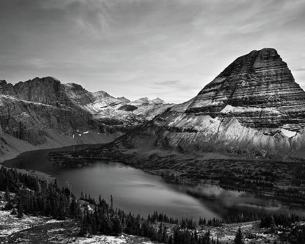 Horizontal Poster featuring the photograph Hidden Lake by Jesse Estes