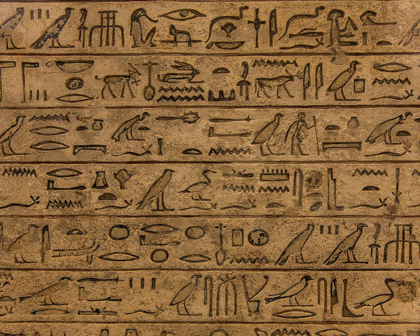 Africa Poster featuring the photograph Hieroglyph by Paolo Modena