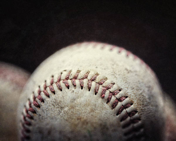 Sports Poster featuring the photograph Home Run Ball by Lisa Russo