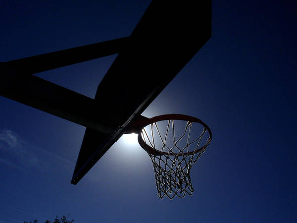Sun Poster featuring the photograph Hoop Dreams by Edan Chapman