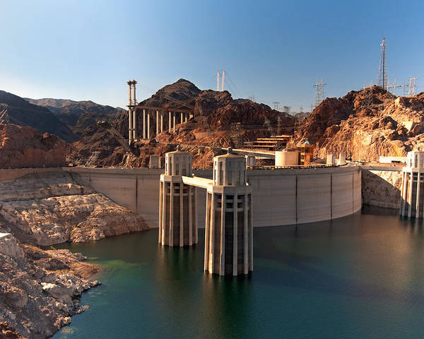 Hoover Dam Poster featuring the photograph Hoover Dam by Melody Watson