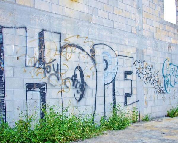 Hope Poster featuring the photograph Hope For Paradise by Lynda Dawson-Youngclaus