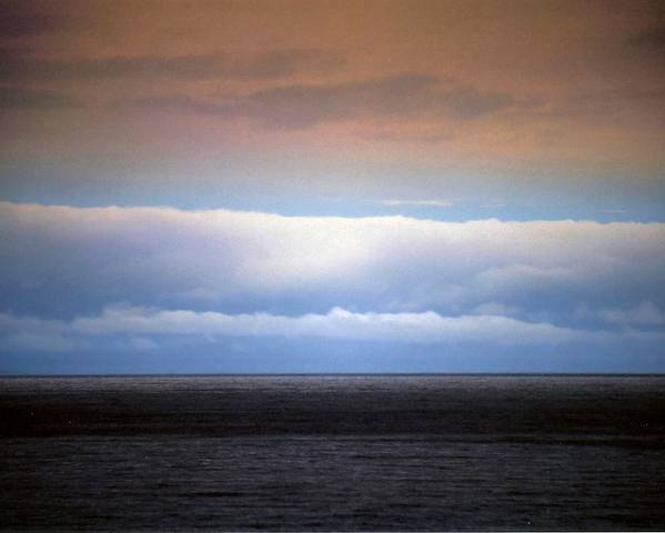 Landscape Poster featuring the photograph Horizontal Number 7 by Sandra Gottlieb