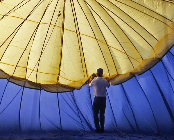 Hot Air Balloon Poster featuring the photograph Hot Air Balloon - 11 by Randy Muir