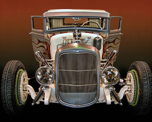 32 Poster featuring the photograph Hot Rod Lincoln Too by Bill Dutting