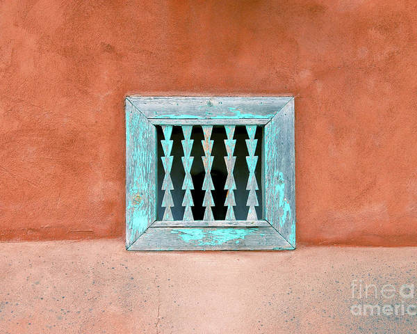 Fine Art Photography Poster featuring the photograph House Of Zuni by David Lee Thompson