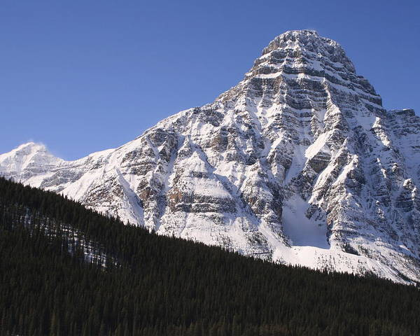 Rocky Mountains Poster featuring the photograph I Love The Mountains Of Banff National Park by Tiffany Vest